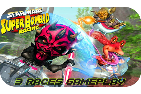 Star Wars: Super Bombad Racing - Gameplay Moments PS2 HD ...