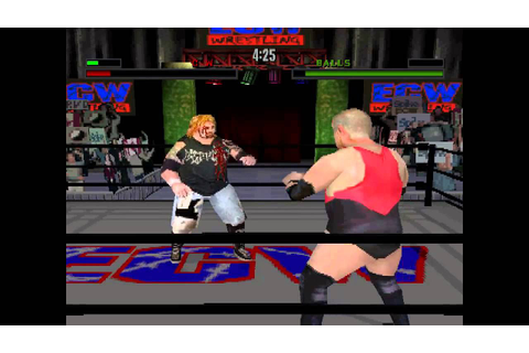 ECW Anarchy Rulz ... (PS1) 60fps - YouTube