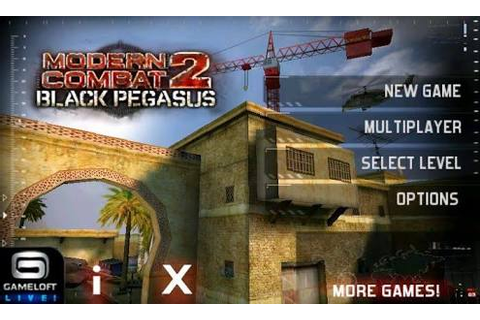Modern combat 2 black Pegasus | Gaming4android