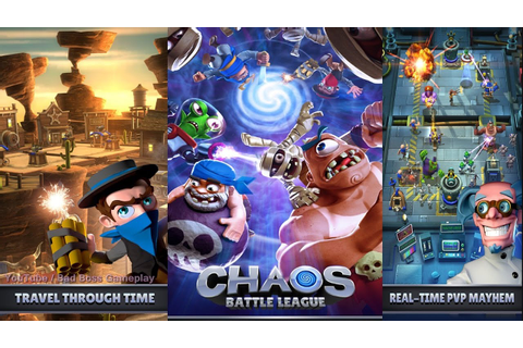 Chaos Battle League | Android & iOS Gameplay Trailer HD ...