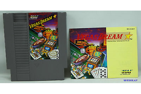 Vegas Dream NES Nintendo Entertainment System Game 1990 ...