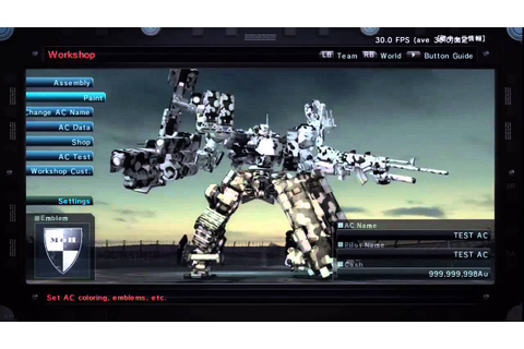 Armored Core V Video Game, Doomsday Trailer HD - Video ...