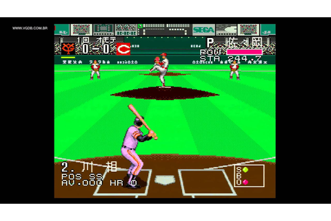 Pro Baseball Super League CD (Pro Yakyuu) - Sega CD / Mega ...