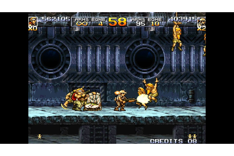Metal Slug 5 arcade 2 player Netplay game - YouTube