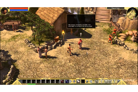 Titan Quest Gameplay PC HD - YouTube
