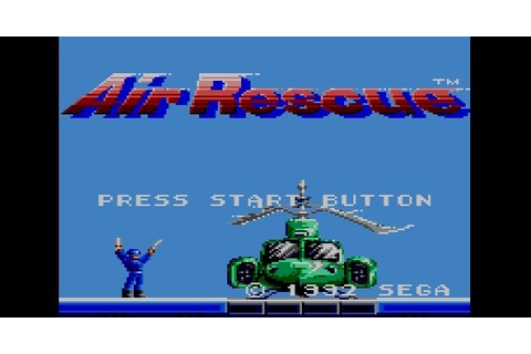 Air Rescue - Sega Master System - Nerd Bacon Reviews