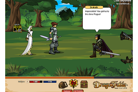 DragonFable on Qwant Games