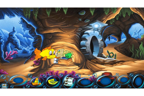 Freddi Fish 5 The Case Of The Creature Of Coral Cove Part ...