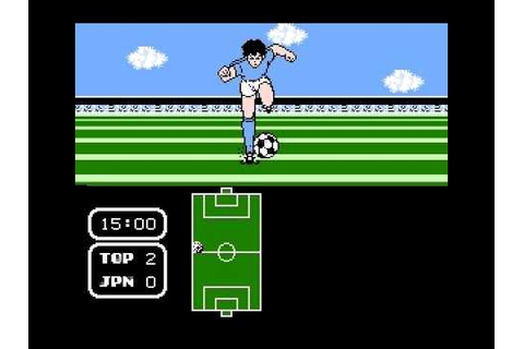 Tecmo Cup Soccer Game - Rd 1 Game 1 vs Japan 1st Half ...