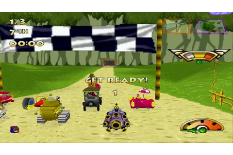 Wacky Races Championship Mode (PC Version) - YouTube