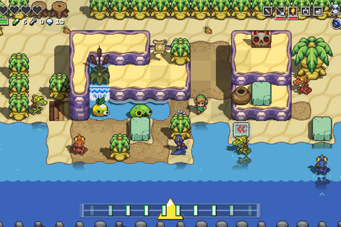 Cadence of Hyrule is a Zelda rhythm game that demands you ...