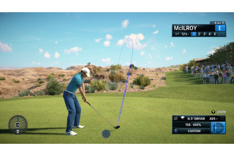 Rory McIlroy PGA Tour E3 Screens and Trailer