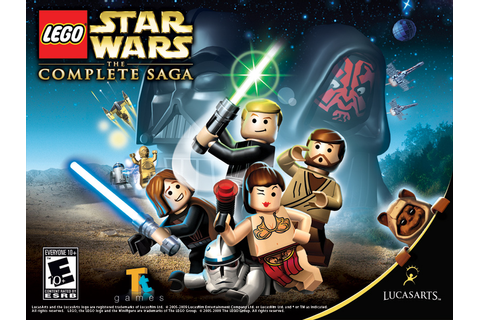 Lego Star Wars The Complete Saga Wallpaper - Lego ...