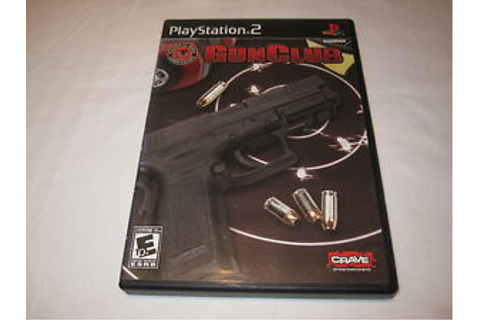 Gun Club NRA Game (Playstation PS2) GunClub Original ...