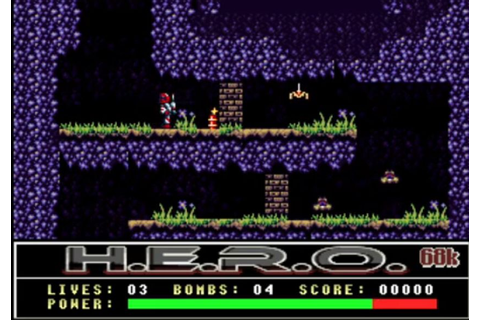 Indie Retro News: H.E.R.O 68k - HOT NEWS as this classic ...