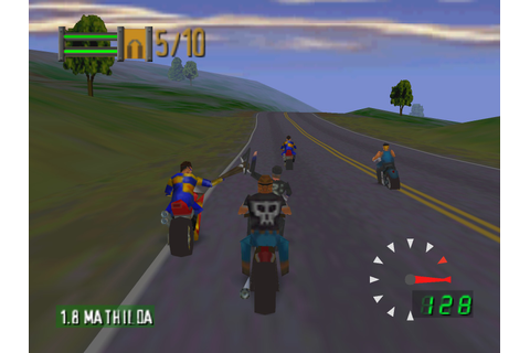 Road Rash 64 (1999) | Retrogaming | Pinterest | Roads