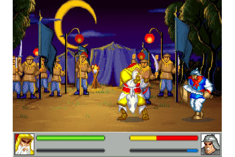 Download Sango Fighter action for DOS (1993) - Abandonware DOS