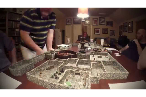 Friday Night Game Night - D&D using Dwarven Forge Terrain ...