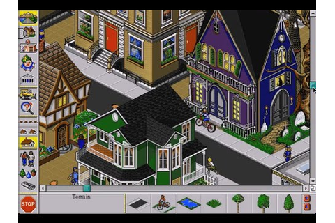 Simtown (Macintosh game 1994) - YouTube
