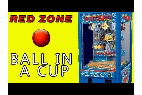 Ball in a Cup - Red Zone Arcade Game - YouTube