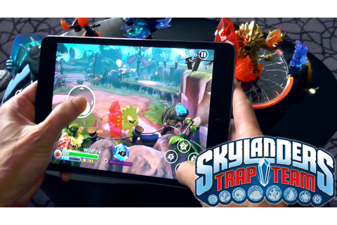 Skylanders Trap Team Mobile - Full Console Game on iPad ...
