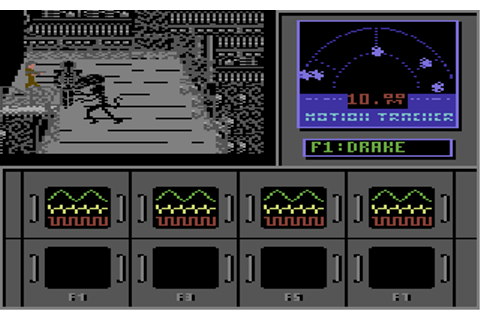 Aliens: The Computer Game Screenshots for Commodore 64 ...