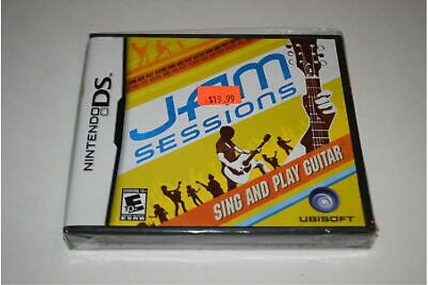 Jam Sessions Nintendo DS Video Game New Sealed 8888163589 ...
