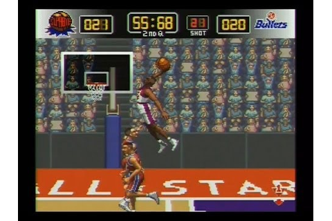 NBA Give N Go SNES Review Gameplay NBA Give And Go - YouTube