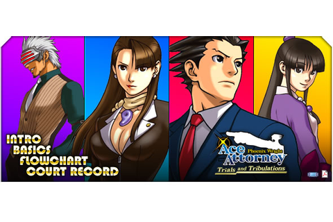 Phoenix Wright: Ace Attorney: Trials and Tribulations - ds ...