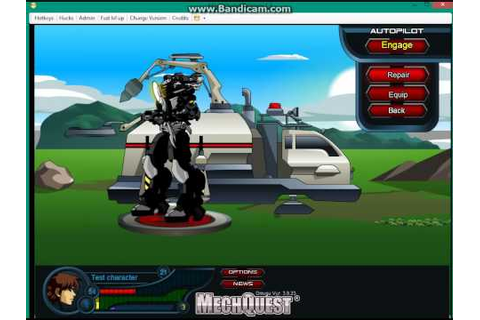 Mech Quest Trainer real - YouTube