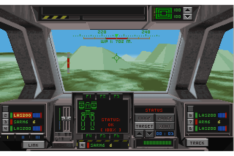 EarthSiege (1994) by Dynamix MS-DOS game