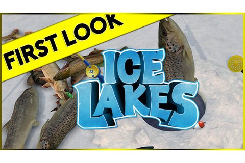 First Look At: Ice Lakes Fishing Game (Steam 2016 Gameplay ...