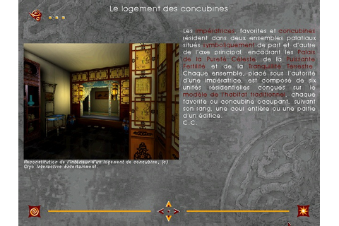 Chine : Intrigue dans la Cité Interdite - Abandonware France