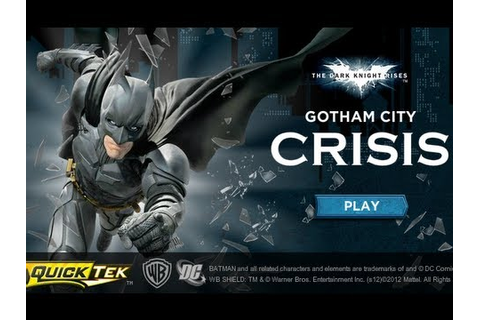 Gotham City Crisis - Game Show - YouTube