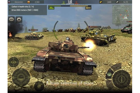 Grand Tanks: Tank Shooter Game ️Android GamePlay HD | New ...