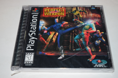 Perfect Weapon Playstation PS1 Video Game New Sealed ...