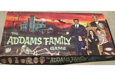 Addams Family Board Game | Azure and Rai's Twisted Art ...