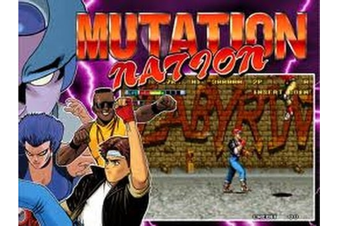 Mutation Nation (Arcade) - YouTube