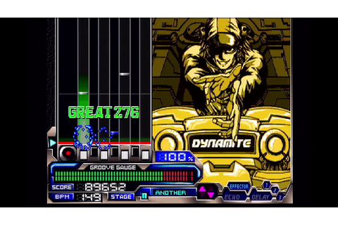 Beatmania IIDX 3rd Style - Dynamite rave [ANOTHER] - YouTube