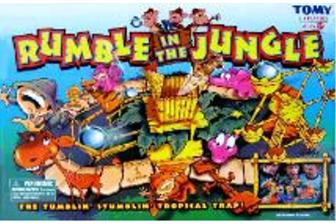 2004 Rumble in the Jungle game TOMY | Don's Game Closet