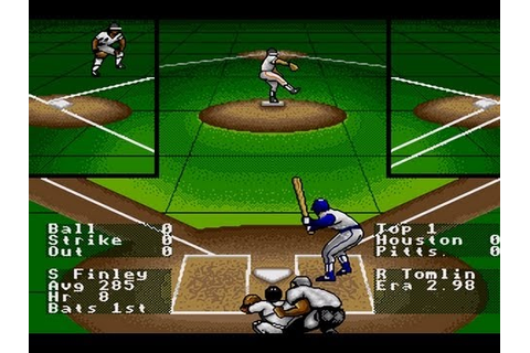 CGRundertow RBI BASEBALL 4 for Sega Genesis Video Game ...