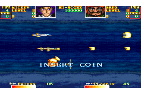 U.N. Squadron (1989) by Capcom Arcade game