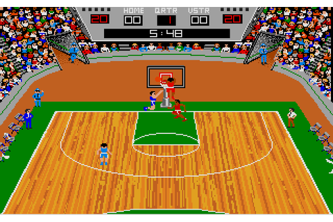 GBA Championship Basketball: Two-on-Two (1986) by Dynamix ...