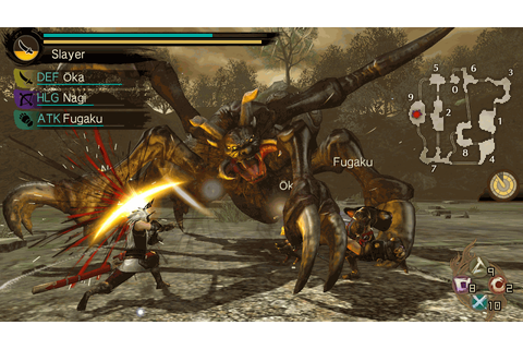 Toukiden: The Age of Demons on PS Vita | Official ...