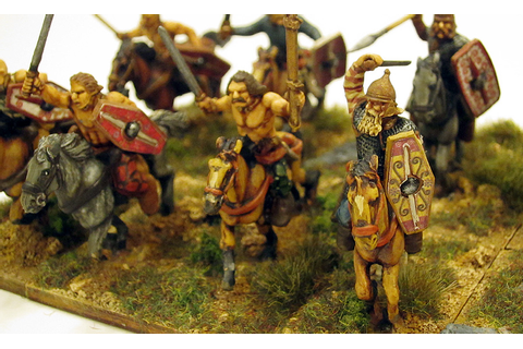 1000 Foot General: Warlord Games Celtic Cavalry