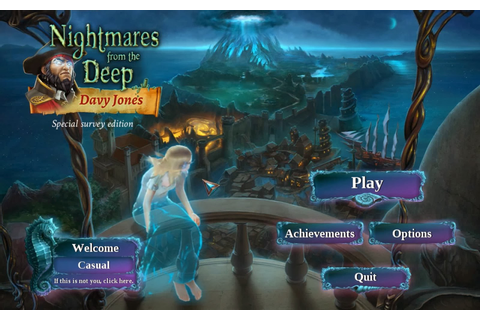 Red Frog Games Blog: Nightmares from the Deep 3: Davy ...