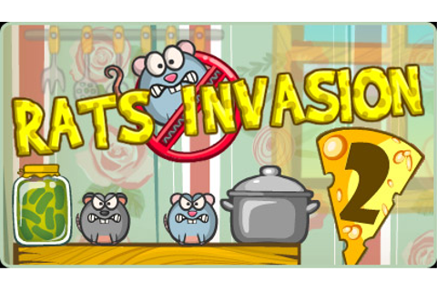 Rats Invasion 2 | Free Flash Game | Flipline Studios