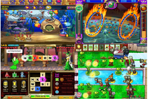 Playing PopCap games in the 2000s. : nostalgia