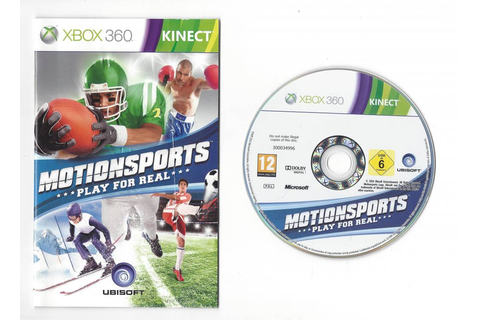 Motionsports Play For Real for Xbox 360 - Passion for ...