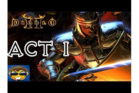 Diablo 2 Act 1 Paladin Gameplay HD 1080p - YouTube